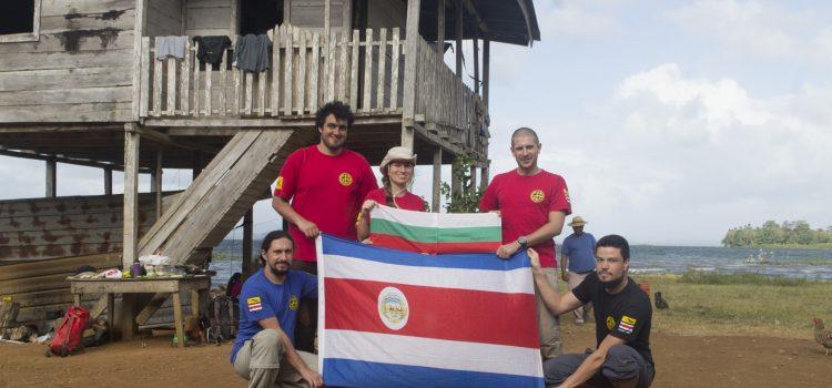 Expedición de espeleología en Panamá